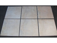 Floor Tiles with Grout