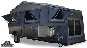 Platinum Escape S2 Forward Fold Camper Rocklea Brisbane South West Preview