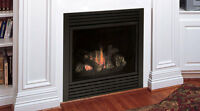 "MAJESTIC CDV Series Direct Vent Gas Fireplace 33""/36""/42""/47"""