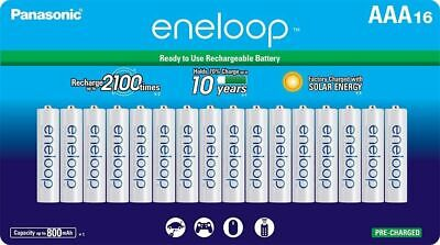 Panasonic Eneloop AAA (BK-4MCCA16BA) Ni-MH Rechargeable Batteries (16 Pack) for sale  Shipping to India