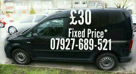 £30 Van Man ↘↘ bed Anytime