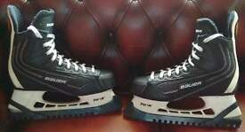 Bauer Ice Skates Size 9 Excellent Condition