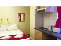 Short term budget accommodation, Willesden Green -London flats to let (#Red D)
