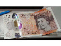 AA01 £10 Ten Pound Note - Pristine Condition