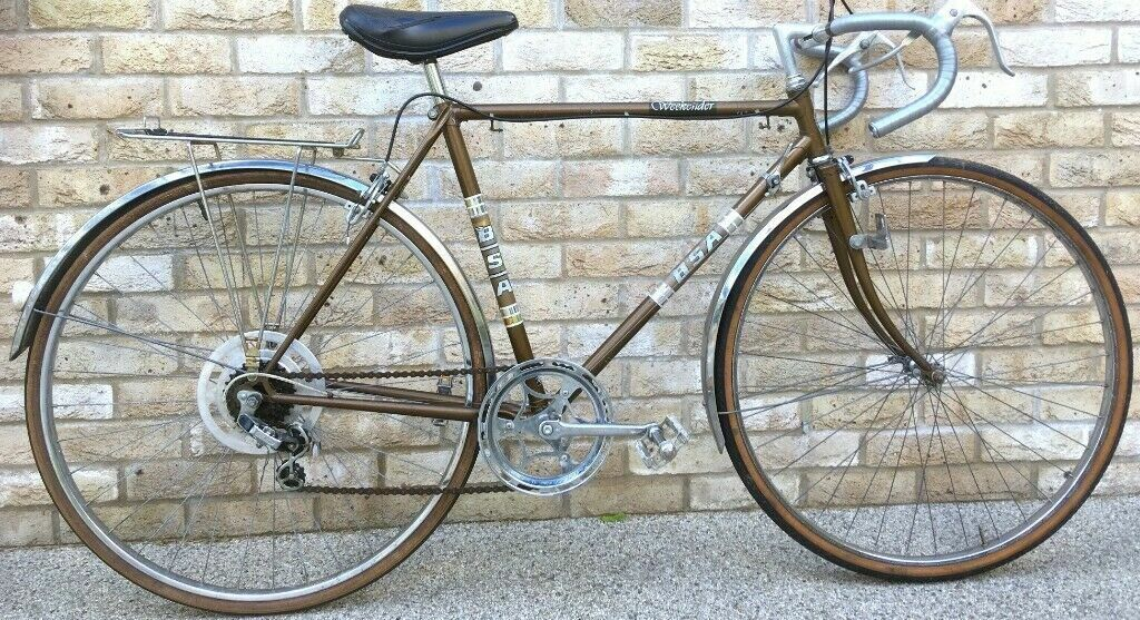 54cm Classic BSA Tour of Britain Bicycle racing race road bike with  mudguards and rack | in Kennington, London | Gumtree