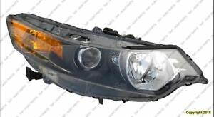 Head Light Passenger Side With HID High Quality Acura TSX 2009-2014