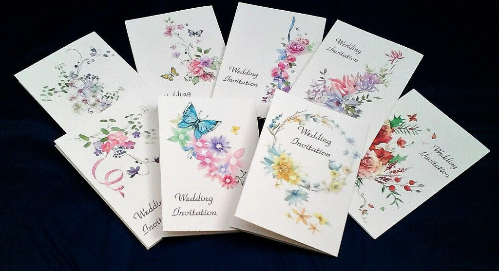 Wedding Invitations - Affordable personalised and non-personalised ...