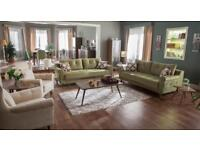 PAULA SOFA SET, FREE DELİVERY