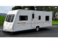Caravan Bailey Senator series 6, 2008 years, model Indiana