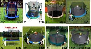 ALL SIZES TRAMPOLINES !!! HOT PRE SUMMER SALE