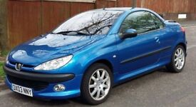 Peugeot 206cc Convertible - Excellent Condition - £695 ono