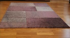 Rug purple grey