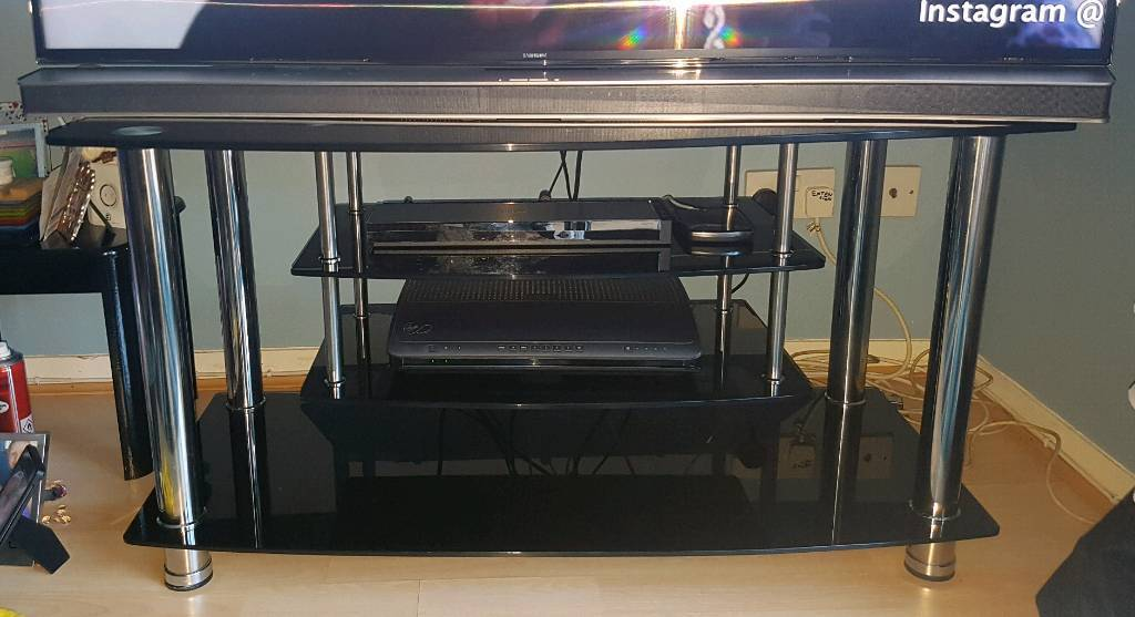 Argos Home Matrix Black Glass Coffee Table And Tv Stand In St Mellons Cardiff Gumtree