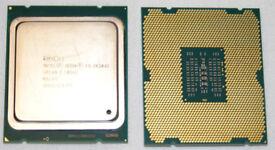 Matched Pair Intel Xeon E5-2620V2 SR1AN LGA2011 6-core CPUs 2.10 / 2.60 GHz 7.2 GT/s QPI 80W