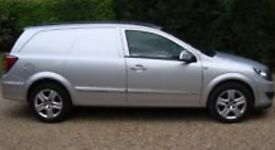 Vauxhall sportive van