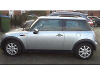 MINI COOPER PANORAMIC ELECTRIC SUNROOF LEATHER TRIM SERVICE RECORDS GOOD CONDITION MINI COOPER ONE