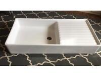 Ceramic Butler Sink Farmhouse Kitchen Renovation FREE delivery