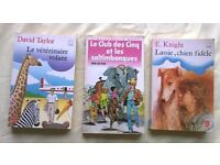 Children's novels in French