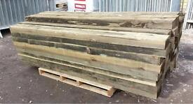 🌳Timber/Wooden Treated Posts 150mm X 75mm X 2100mm -New-