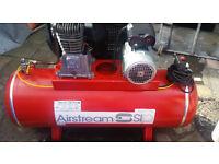 SIP Airstream air compressor 150 litres