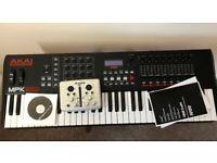 AKAI Professional MPK261 - USB MIDI Keyboard Controller and ALESIS iO2 - Audio Interface (Bundle)