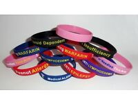 Quality promotional goods, which are wristbands and lanyards for any occasion!