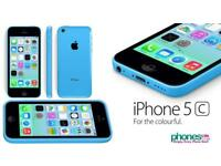 Apple iPhone 5c blue iPod smartphone wifi free apps games music postage available