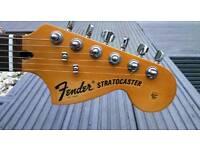 Squire Stratocaster guitar