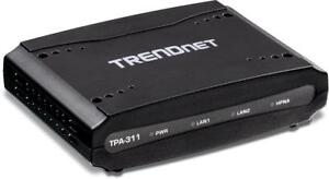 NEW TRENDnet Mid-Band Coaxial Network Adapter, TPA-311