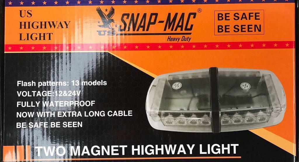 Two Magnet Highway Light