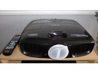 """EPSON EH-TW6100 3D Home Cinema Projector and 100"""" screen"""