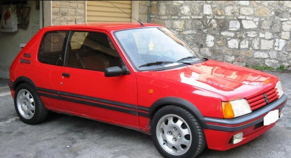 1989 205 Gti 1 9 Cherry Red Restored 12 Month Mot In Newcastle