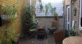 Beautiful one bedroom flat in clapham - private garden - viewings today!