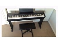 CASIO CDP - 100 FULL SIZED ELECTRIC PIANO WITH WEIGHTED KEYS