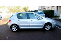 Peugeot 307 with 1 year MOT and a Very Low Milage. First to see will buy comes with full spec.