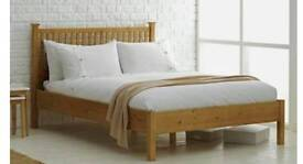 SPECIAL OFFER DOUBLE BED OAK WAS £700.00 TODAY OFFER £169