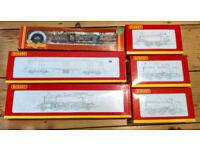 Massive HORNBY BACHMANN TRAIN Loco COLLECTION inc Boxed/ Unused Locos Trucks and Carriages - Job Lot