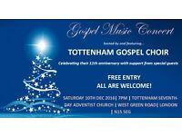 Tottenham Gospel Choir concert