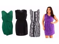 Bundle of Brand New Wholesale Plus Size Jersey Dresses Perfect for Resale Sensible OFFERS Considered