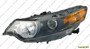 Head Light Driver Side With HID High Quality Acura TSX 2009-2014