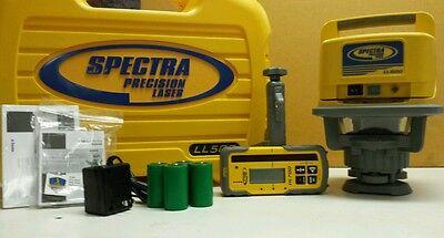 Trimble Spectra Precision Ll500-4 Laser Level Whl700 Receiver Recharge Kit