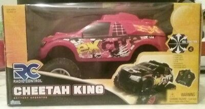 Cheetah King Red  Vehicle Race Track Kids Stuff Remote RC 27 Mhz Controlled Car ()