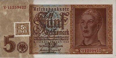 Ro.333b 5 DM 1948 Kuponausgabe Hitlerjunge (1)