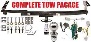 COMPLETE-TRAILER-HITCH-RECEIVER-TOW-PACKAGE-CLASS-2-FAST-SHIPP-NO-DRILL