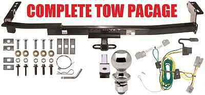 Complete Trailer Hitch Receiver Tow Package Fast Shipping No Drilling