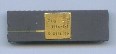 MHS D-8086 CPU Vintage Processor 5MHz Ceramic DIP40 New old stock Tested working