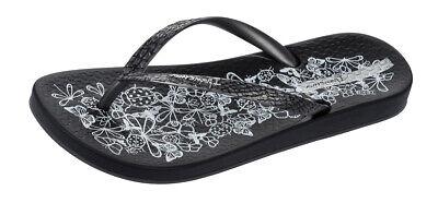 Ipanema Nature Womens Flip Flops / Vintage Sandals - Black - RRP: £17.95