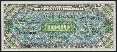 Ro.207c 1000 Mark Alliierte Militärbehörde 1944 (1)