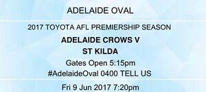 Crows V St Kilda x 3 Happy Valley Morphett Vale Area Preview