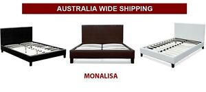 Brand NEW PU Leather Bed frames - ALL SIZES - FREE METRO DELIVERY Salisbury Brisbane South West Preview